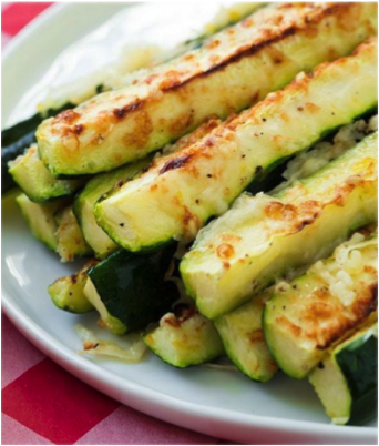 Garlic zuchinni