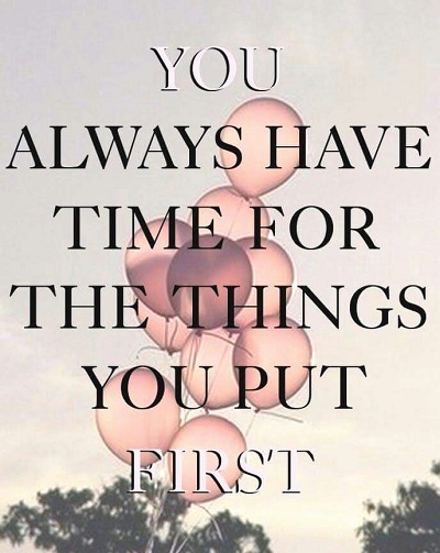 you always have time