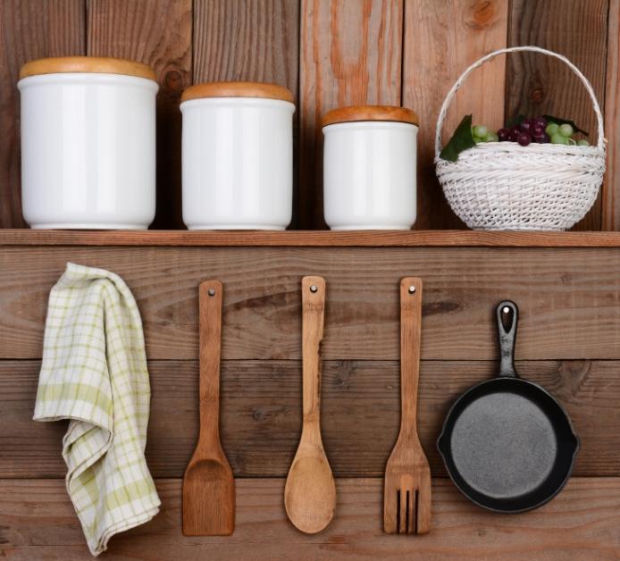 Rustic Kitchen Display
