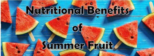 nutr benefits summer